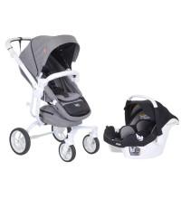Casual Quatro Trona Safe Travel Sistem Bebek Arabası Gri