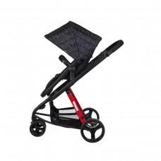 Soo Baby Crea Plus Rosso Bebek Arabası Black
