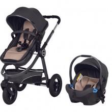 Prego Urban 2036 Travel Sistem Bebek Arabası Gri