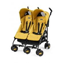 Peg Perego Pliko Mini Classico Twin İkiz Bebek Arabası Yellow