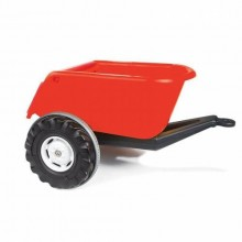 Pilsan Süper Traktör Römörk Kırmızı