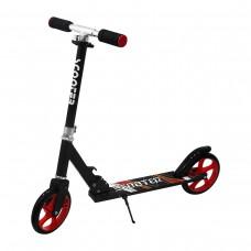 2 Tekerlekli Metal Scooter Siyah-Beyaz Xl