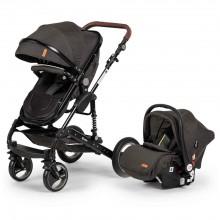 Elele Velar Travel Sistem Bebek Arabası Siyah