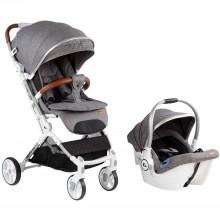 KRAFT Roll Travel Sistem Bebek Arabası Gri