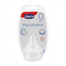 Chicco %0 BPA Fizyolojik Biberon Emziği Silikon Om+