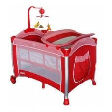 Krraft Relax Dönenceli Oyun Parkı 70*110 Kırmızı